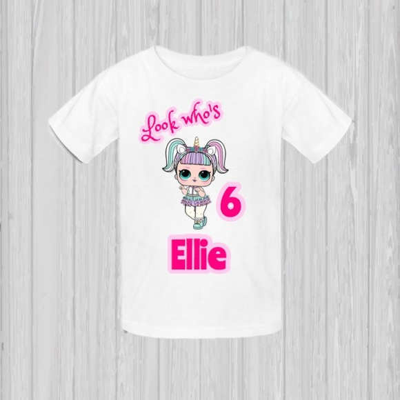 71620b538 Gildan Shirts & Tops | Lol Surprise Dolls Tshirt Unicorn Doll | Poshmark